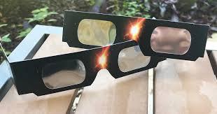 Counterfeit solar glasses